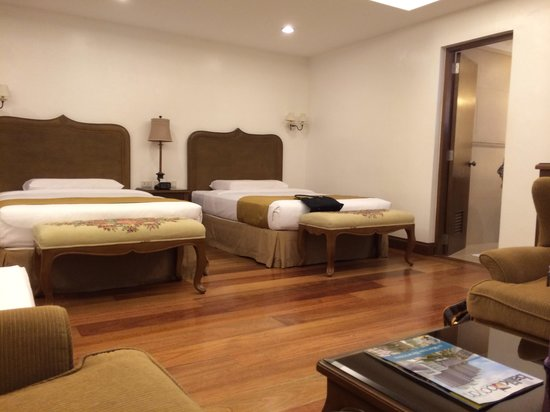 Villa Ibarra : Two twin beds