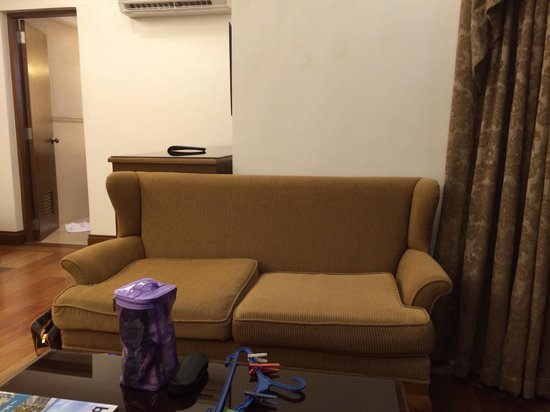 Villa Ibarra: Sofa in the room