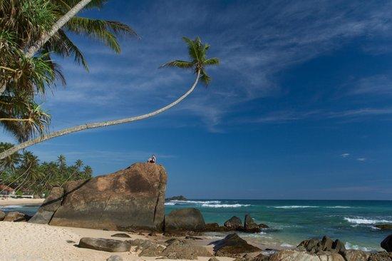 Rockside Cabanas Hotel: Strand