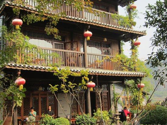 Yangshuo Tea Cozy: 私の部屋の外観(2階右側)