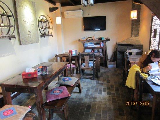 Yangshuo Tea Cozy: レストラン