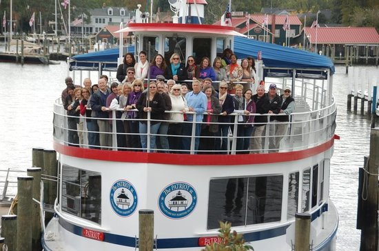 Patriot Cruises: Corporate event aboard The Patriot.
