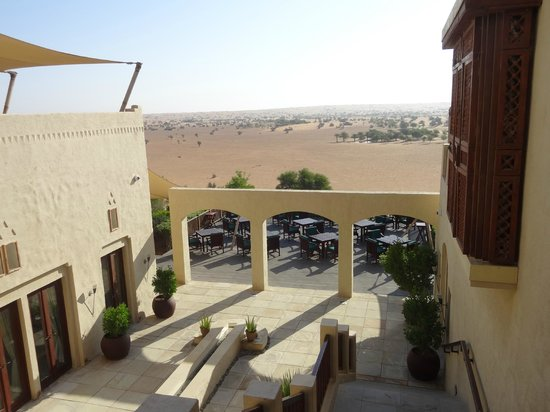 Al Maha, A Luxury Collection Desert Resort & Spa: Tolle Aussicht