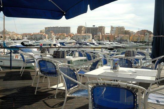 Restaurante Akvavit : Blick auf die Marina