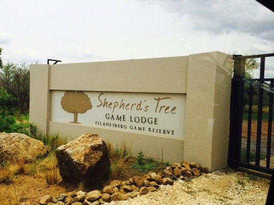 Shepherd's Tree Game Lodge: Entrance