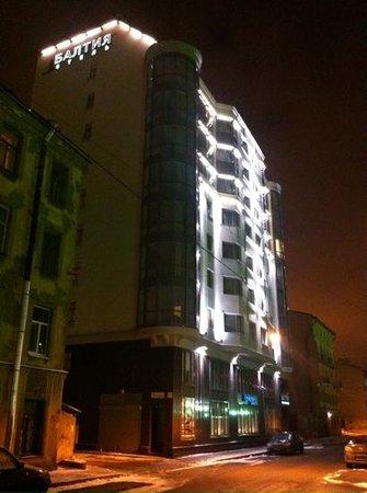 Baltiya Hotel : Отель Балтия. Вид с ул. Смолячкова