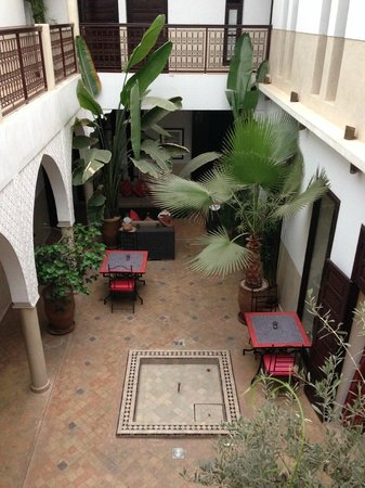 Riad Badi: View of Riad from our room