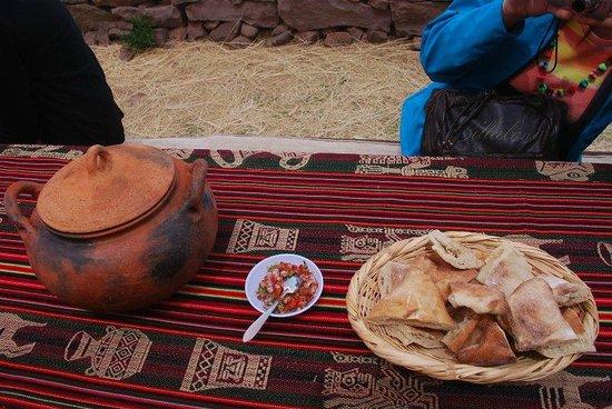 Taquile Island : Quinoa soup