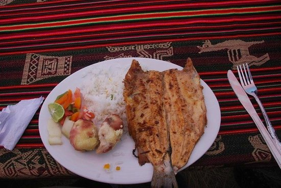 Taquile Island: Trout