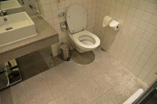 The Trafalgar Hotel: The filthy toilet floor