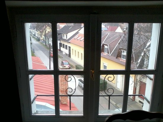Malom Hotel: view from the room