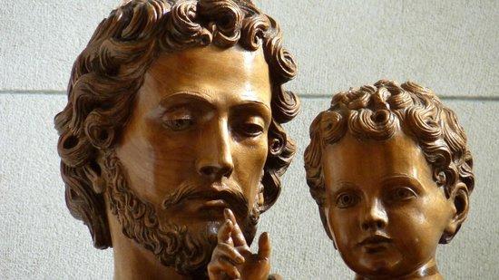 Catedral de la Plata: San José y el Niño (Leo Moroder)
