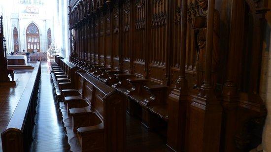 Catedral de la Plata: Sillería del coro