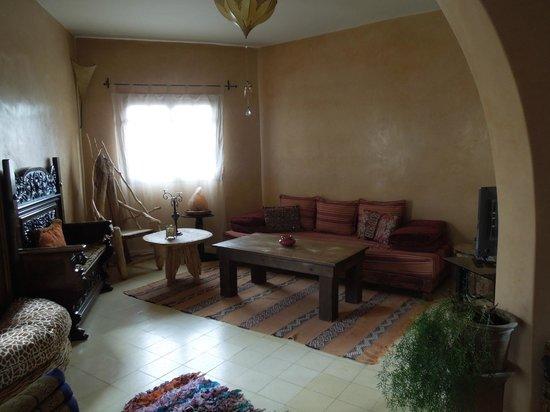 Casa Guapa de Tamuziga: Wohnzimmer