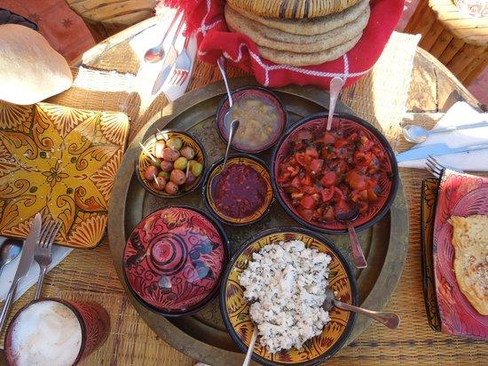 Casa Guapa de Tamuziga : Frühstück