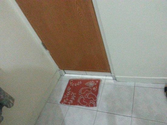 Ang's Hotel: half a floor mat
