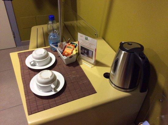 Hotel Ibis Styles Catania Acireale : Appressatissimo complimentary...la stuoina peró va lavata