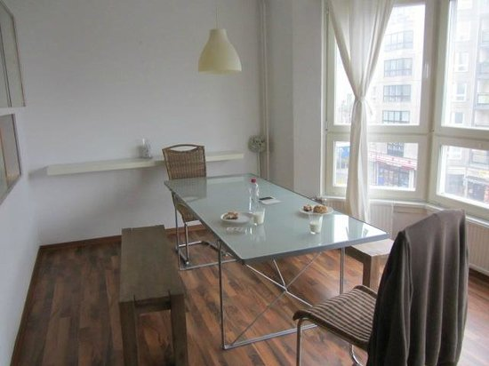 Apartments am Brandenburger Tor: eethoek