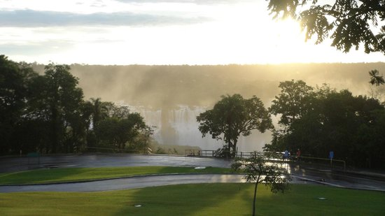 Belmond Hotel das Cataratas: View from hotel room with falls view (room 1105)