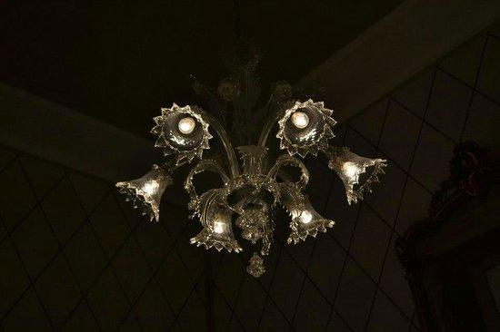 Hotel Ercolini & Savi: lampadario