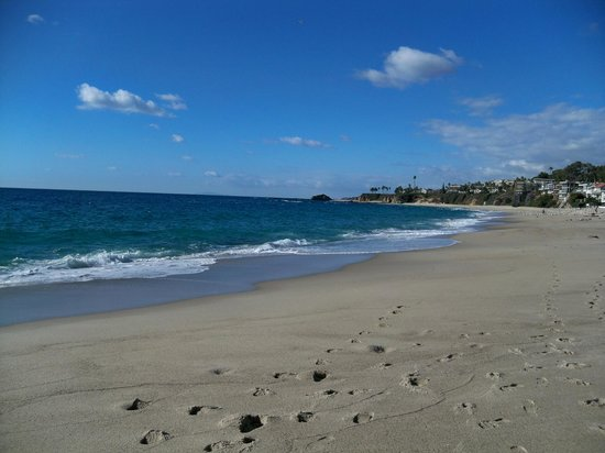 Aliso Beach Park: Beach view