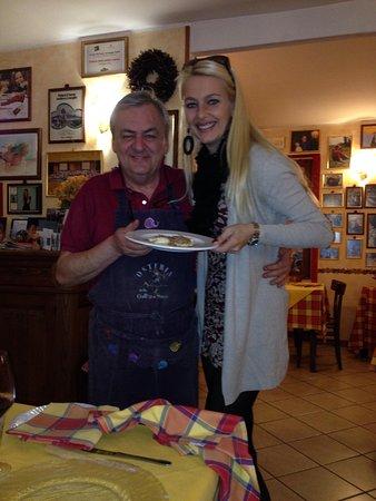 Osteria della Gallina Sversa : Con Ediliano