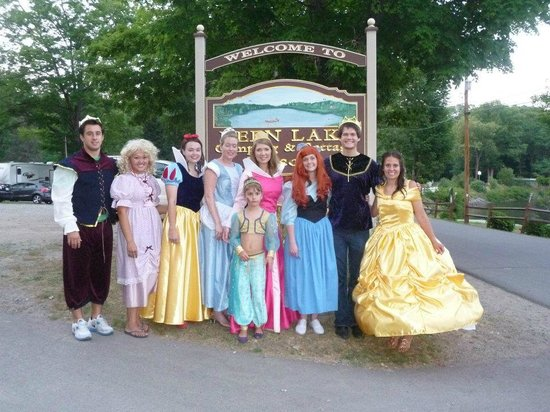 Keen Lake Camping and Cottage Resort: Our Annual Princess Ball