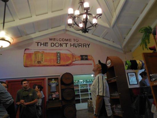 Cruzan Rum Distillery : Come thirsty!