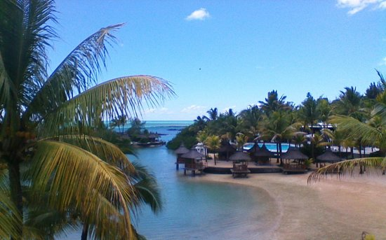 Paradise Cove Boutique Hotel: VUE DE NOTRE CHAMBRE