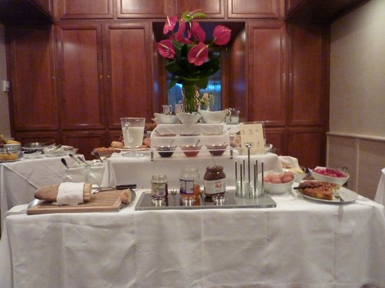 Barocco Hotel: un buffet ptit dej copieux