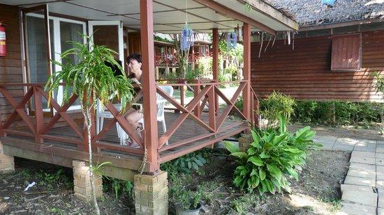Holiday Resort Koh Yao Noi: Terrasse