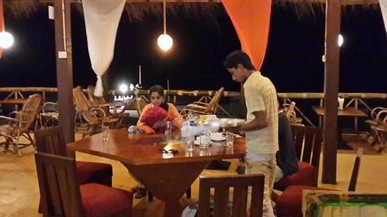 Goalpara, Indien: restaurtant