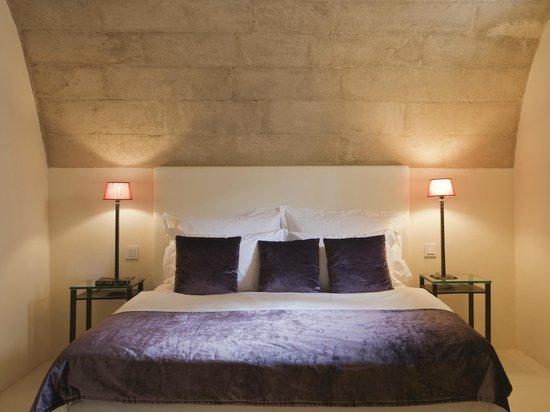 """Jardi d´Artá Boutique-Hotel: Doble superior, """"Capilla""""mit direktem Zugang zum Garten, Schlafzimmer"""