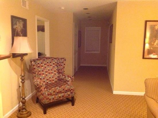 Williamsburg Plantation Resort: view of entrance into unit