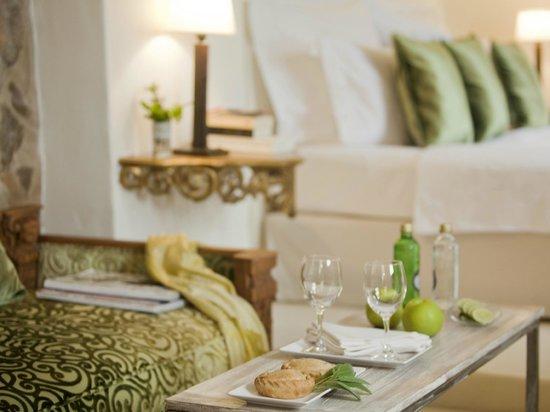 """Jardi d´Artá Boutique-Hotel: Doble superior, """"Jardín"""" mit direktem Zugang zum Garten, Detail"""