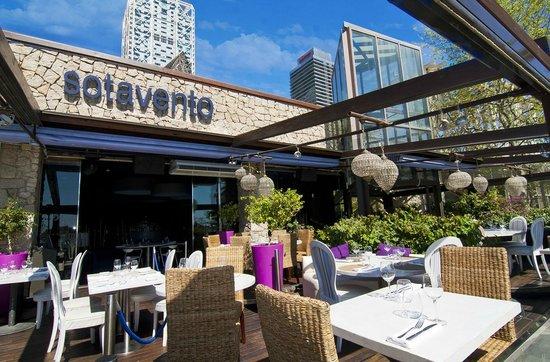 ded080524df3 Sotavento beachside restaurant in Barcelona - Picture of Sotavento ...