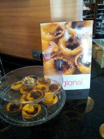 Hotel Ibis Lisboa Jose Malhoa: Tradicional pastelzinho de Belém