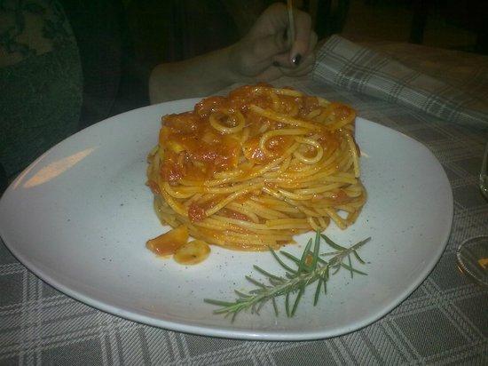 Il Ghiottone da Mauro: Spaghetti all'aglione