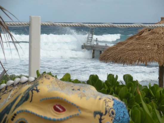 Cobalt Coast Grand Cayman Resort : Surfs Up!