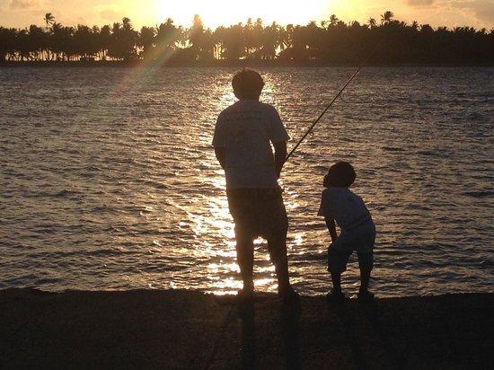 Tevahine Dream : partie de pêche