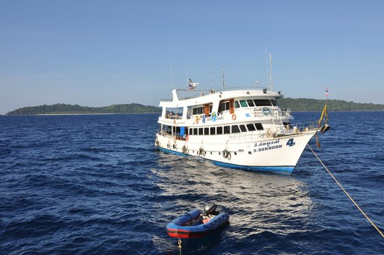 South Siam Divers: Наш корабль