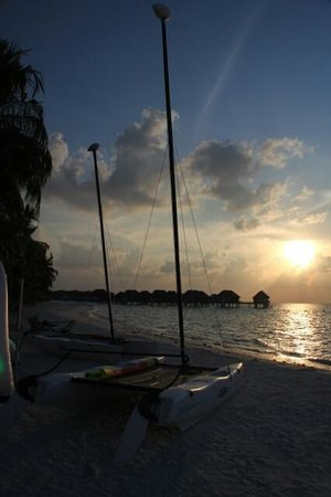 Club Med Kani: Sunset at Sunset Bar