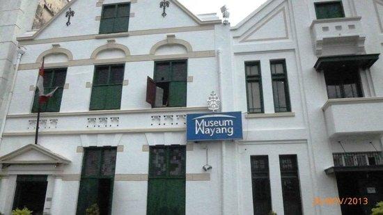 Museum Wayang ou Puppet Museum