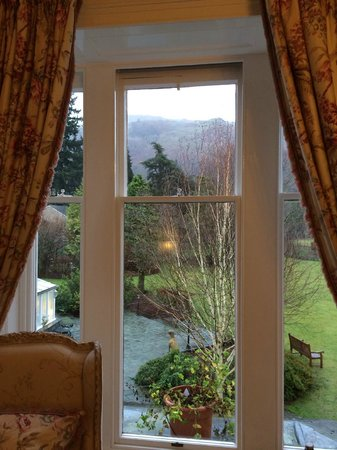 The Wordsworth Hotel: the calming view from room 7