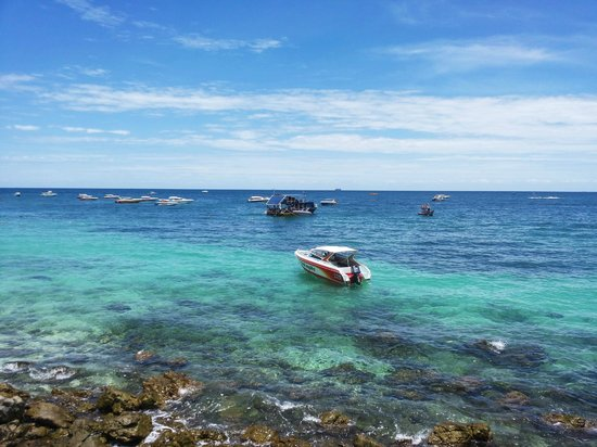 Ko Lan, Tailandia: Samae Beach