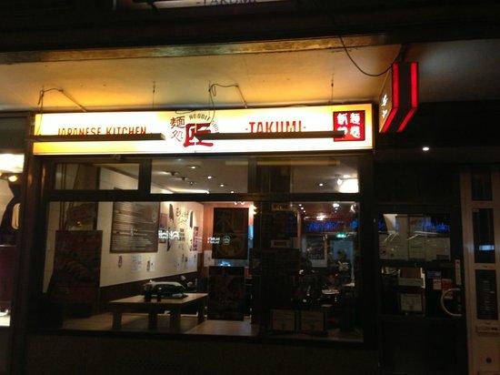 Takumi: Buiten aanzicht