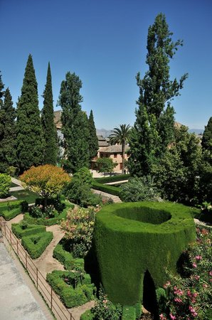 Museo de La Alhambra: girdini interni