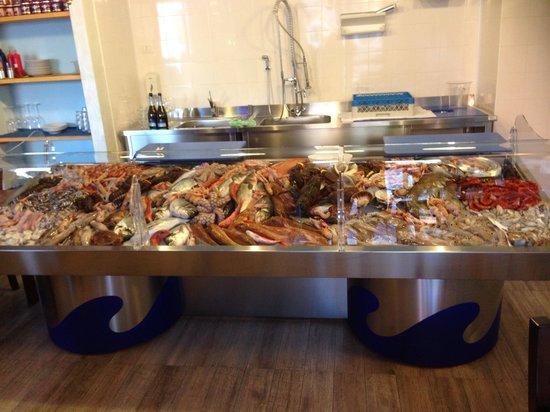 Treviglio, Italy: Super sfizioso pesce
