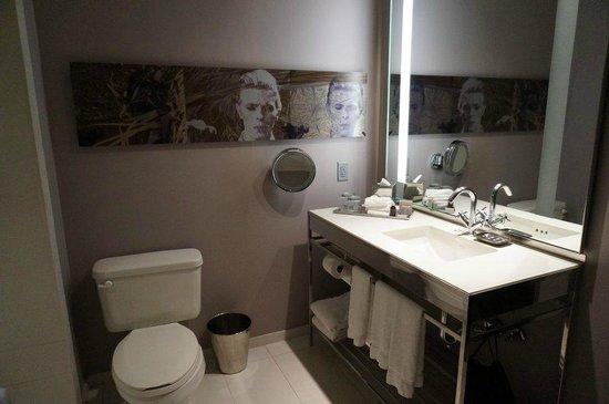 Hard Rock Hotel Chicago: Unser Badezimmer