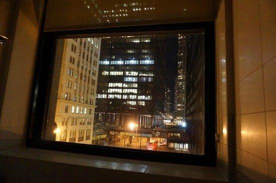 Hard Rock Hotel Chicago: Aussicht von unserem Badezimmer